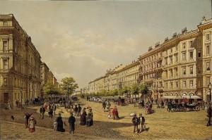 Ringstrasse ca 1885, Wien